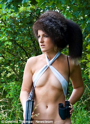 Two dozen women have embraced their natural surroundings in a series of country pursuit poses for the Game Birds 2013 calendar