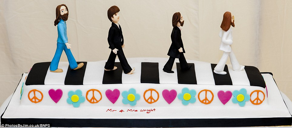 Sixties Music Fans Marry In Beatles Themed Wedding Abbey