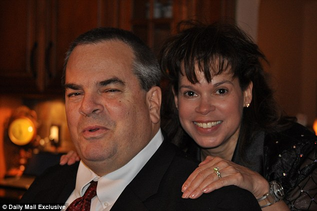 Gone: Albert Peterson, left, shot dead his wife Kathleen, right, and two sons hours after going to church. The couple is pictured on January 4, 2010.