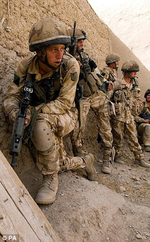 Facing redundancy: Every regiment in the army will be hit by the cuts that will see 8,000 soldiers lose their jobs