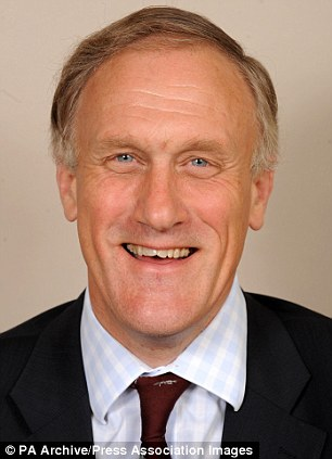Controversial: Conservative MP Julian Brazier, on the Defence Select Committee, has proposed that all British Army officers be forced to retire at 45