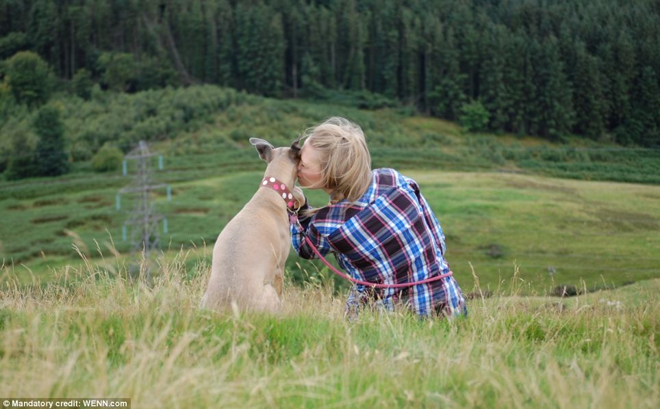 Best buddies forever: Third place runner-up in the Man's Best Friend category. Photo taken by Sarah Brown