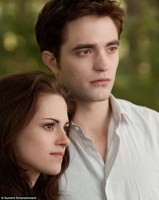 Reunited... onscreen: The actress, who was recently caught up in a cheating scandal with director Rupert Sanders, is seen reunited in the movie with her on/off screen lover Robert Pattinson