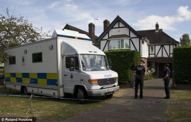Protection: Mr Al-Hilli had recently changed the locks at the family home in Claygate, Surrey, allegedly to keep his brother out of the property