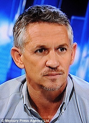 Sorry: Gary Lineker has apologised after accidentally ridiculing two Muslim football players
