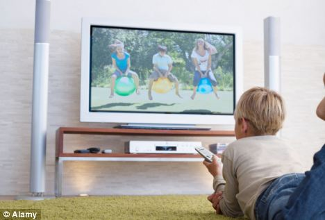 The average child has watched a year of television by the time they are only seven years-old