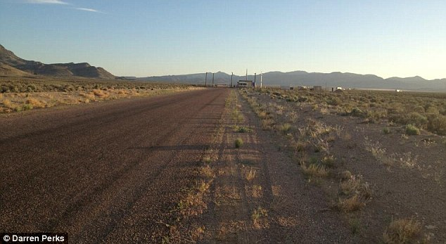 The back gate of Area 51: The team risked six months in jail by entering
