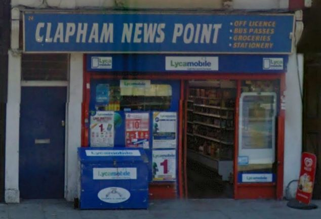 Attack: Rehman led the woman to Newspoint store in Clapham Common Southside, (pictured) after she became separated from her friends outside the club following a night socialising