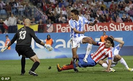 Prolific: Falcao nets against Malaga last weekend