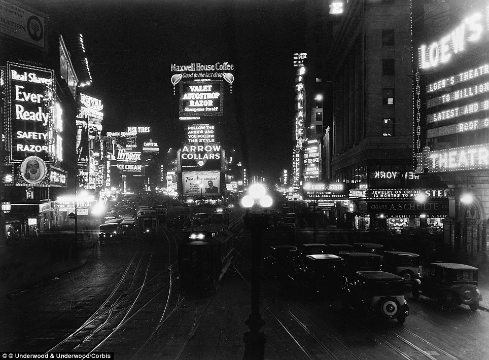 Image result for times square 1940ss