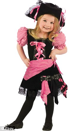 Tainted threads: Two shipments of girls' pirate costumes worth $10,000 were seized for having lead levels 11 times the legal limit