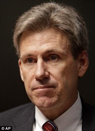 Killed: Ambassador Christopher Stevens died following smoke inhalation