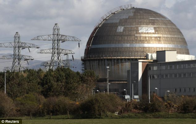 UFO investigator Sharon Larkin found ten dead birds in her garden the same day Mr Sherwood saw the UFO outline, which is nearby to Sellafield nuclear power plant