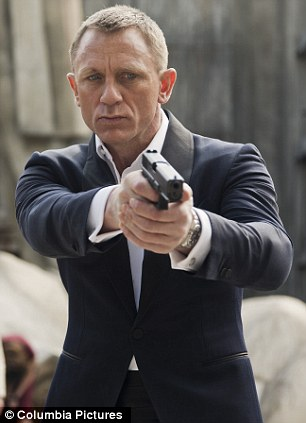 Coinciding With Release Of Daniel Craig In Skyfall James