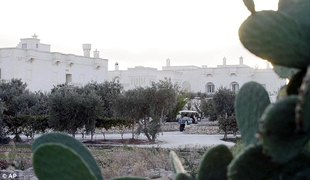 Idyllic: The Borgo Egnazia resort, where Justin and Jessica married in Savelletri, southern Italy