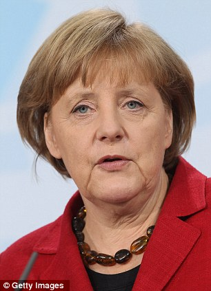 The figures will make concerning reading for German Chancellor Angela Merkel