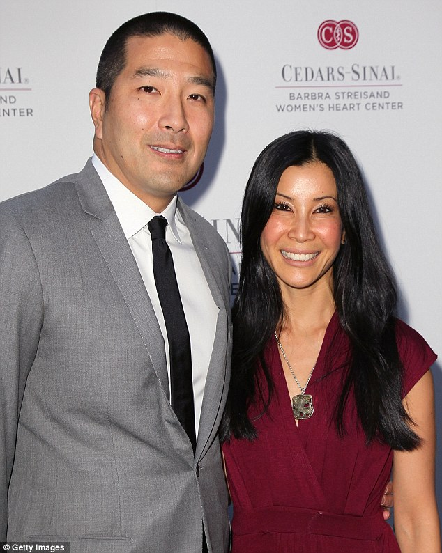 Budding family: Seen earlier this year, Lisa and her husband Dr. Paul Song experienced a miscarriage in 2010 which the journalist spoke openly of it having tested her self worth