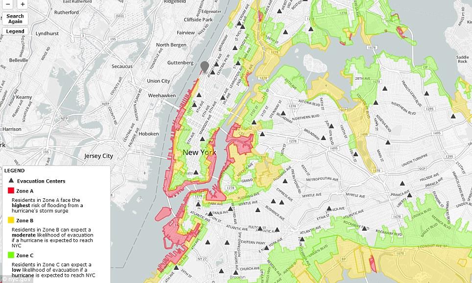 Estado de emergencia: neoyorquinos que viven en la Zona Roja Una cara del más alto riesgo de inundación por las mareas de tormenta y el alcalde Michael Bloomberg ordenó la evacuación obligatoria de esta tarde