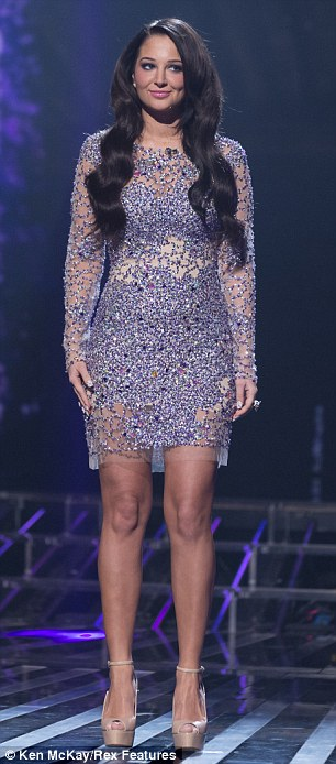 Close call: Both Nicole and Tulisa brought their A-game to X Factor's weekly style battle