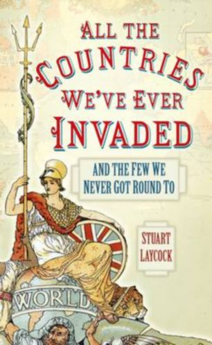 Two-year project: Author Stuart Laycock started the unusual project after his 11-year-old son asked him how many countries the British Empire had invaded