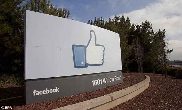 Home base: Facebook's corporate headquarters in Menlo Park, California.