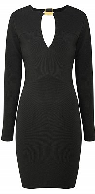 Black dress with cut out: £40