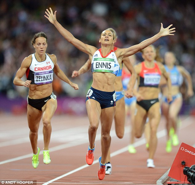 Frank talk: Jessica Ennis made the confessions in her autobiography, in which she also admitted that the nickname, Tadpole, given to her by Kelly Sotherton bothered her