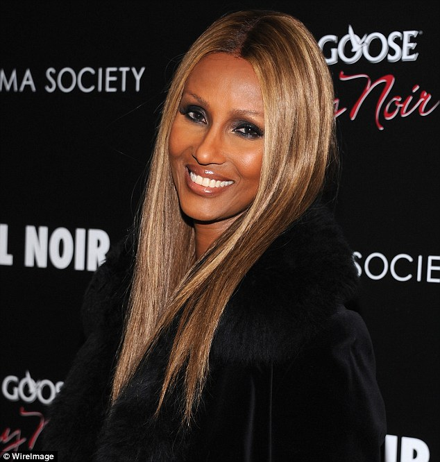 Hot at 57! Somali supermodel proved she still looks positively flawless while attending a screening of the film Hotel Noir at Crosby Street Hotel in Manhattan