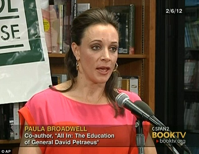 Publicity tour: Broadwell appeared on C-SPAN2 in February to discuss her biography