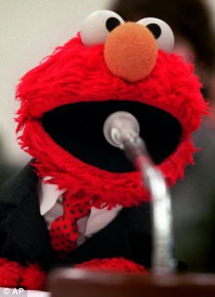 Elmo of Sesame Street