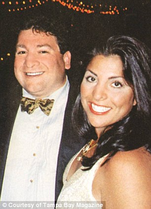 photo taken by Tampa Bay Magazine of Jill Kelley with her husband Dr. Scott Kelley.
