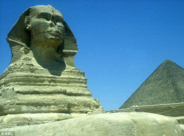 Marked: The Great Sphinx and the pyramids of Giza are now the target of a radical Salafist jihadist leader.