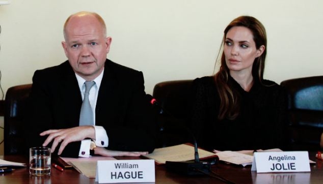 Foreign Secretary William Hague,