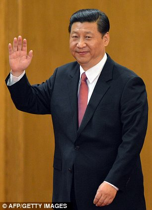 Chinese Vice President Xi Jinping emerges as the head of the newly reshuffled seven member Communist Party of China Politburo Standing Committee,