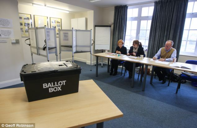 Image result for empty polling station