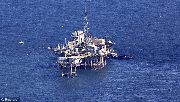The platform is operated by Black Elk is an independent oil and gas company headquartered in Houston, Texas