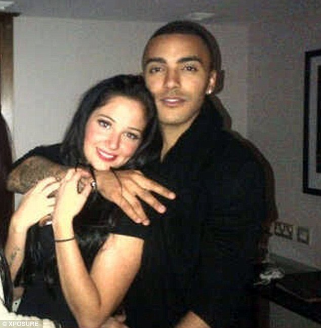 Getting close: Tulisa told Twitter that she is 'happy with her man' Danny Simpson