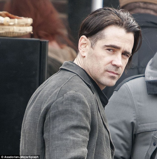 Colin Farrell Reveals Much Shorter Haircut On The Set Of