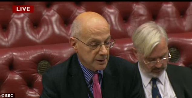 Strong views: Lord Beecham backed a string of proposed changes to the legislation