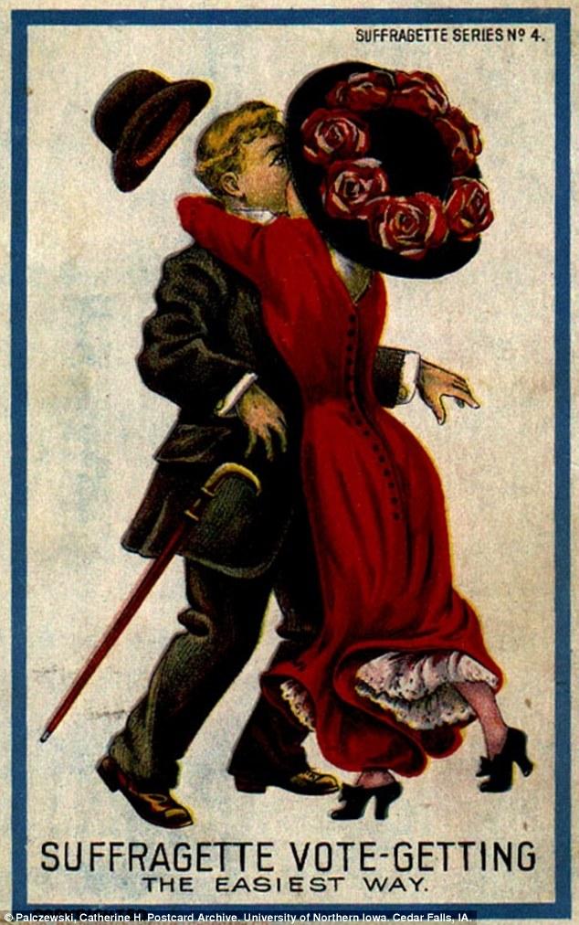 War On Women Propaganda Postcards From Suffragette Era