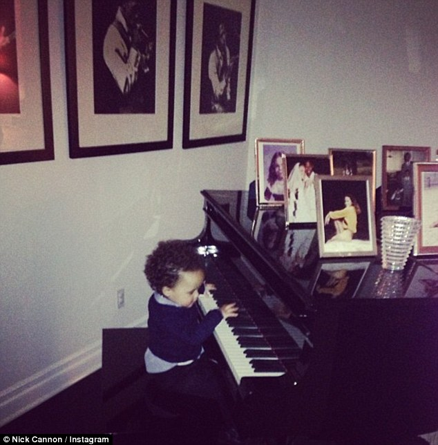 Dem Babies: The notorious diva and her husband Nick Cannon frequently post pictures offering fans a candid glimpse into their posh home life with their 20-month-old fraternal twins