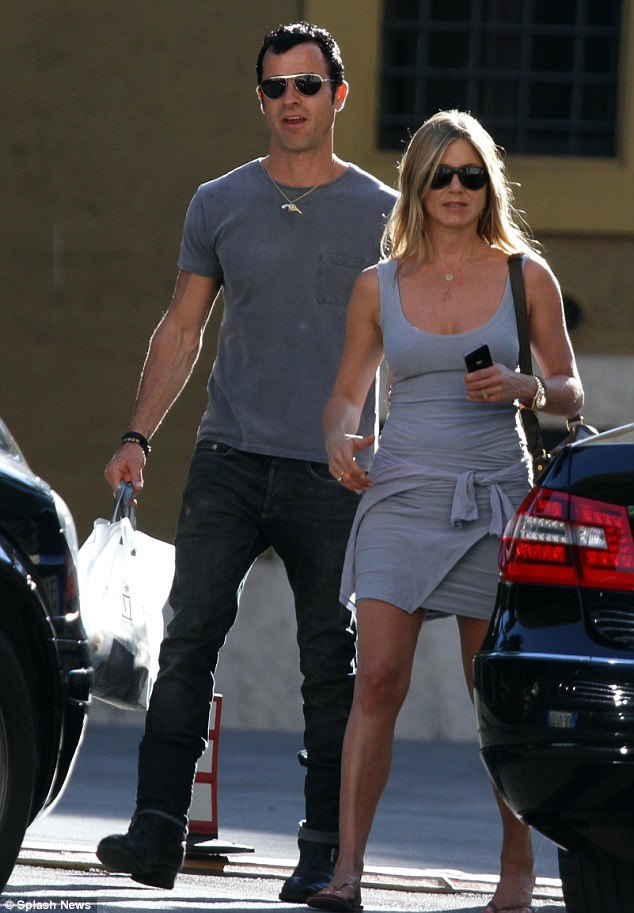 Moved on: Jennifer has had a string of high-profile boyfriends since Adonis, including Brad Pitt and John Mayer