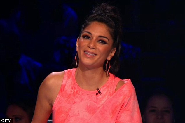 Still winning: Nicole managed to just about outshine Tulisa on Saturday's live show