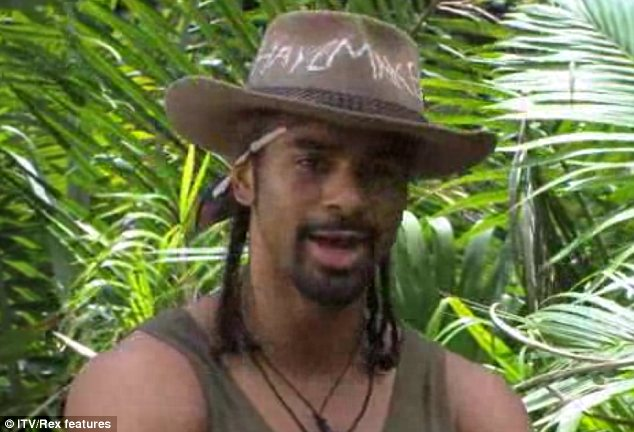 Not a knockout: David Haye was left disappointed after earning six out of seven stars in his Bushtucker trial
