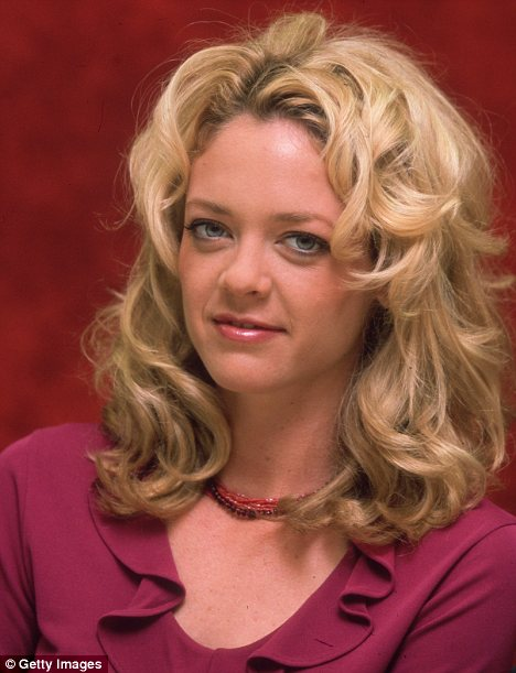 Fallen star: Kelly, pictured in 2000, played glamorous Laurie Forman on the show but has had little work since