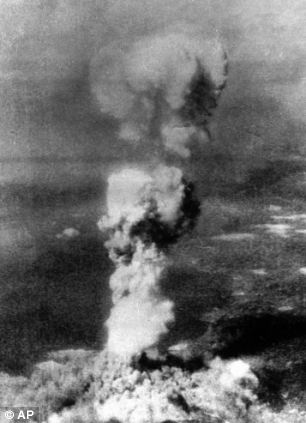 Deadly: A leaked diagram suggests that Iranian scientists have carried out computer tests for a nuclear weapon three times as powerful as that which destroyed Hiroshima, pictured
