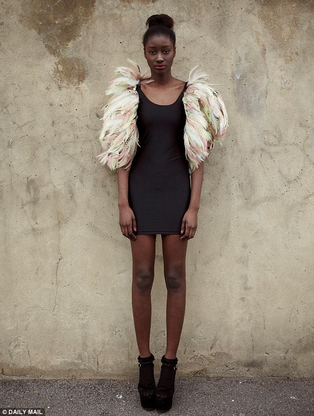 Fashion victim: Feathers might look pretty but birds, especially geese, pay a very high price