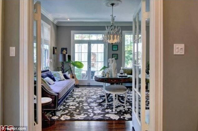 Southern style comfort: Tasteful Katherine is obviously a big fan of airy interiors if this is anything to go by