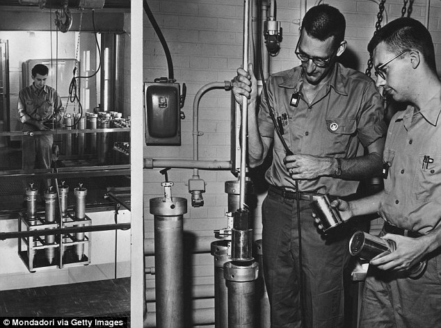 Top secret: Research into biological, chemical and nuclear weapons soared in the early days of the Cold War, including the CIA's MK-ULTRA program