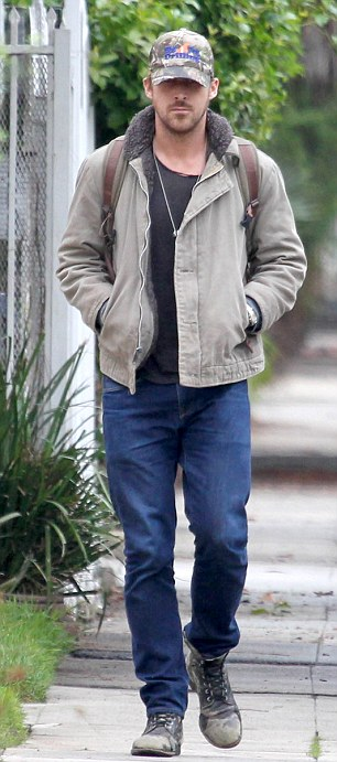 Friend time: Ryan Gosling and Eva Mendes went to visit pals separately on Thursday